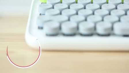 洛斐DOT机械键盘Lofree keyboard