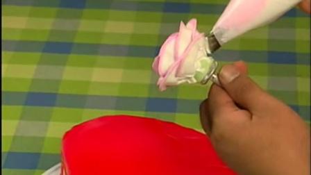 浪漫的玫瑰蛋糕制作 极简教程烘培工具