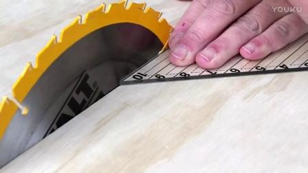 自制45°切角工装更新版本-大刘木工DIY工具坊