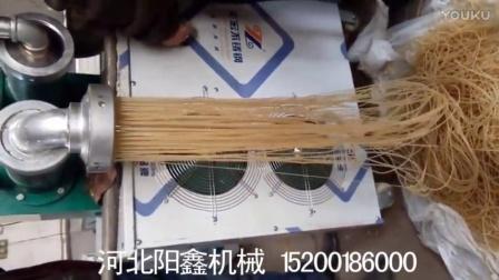 湖北枝江市大型玉米面条机/钢丝面机,(冷面机)米粉机/米线机.年糕机YJHIY