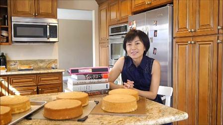 自制蛋糕 美味又简单榴莲千层蛋糕