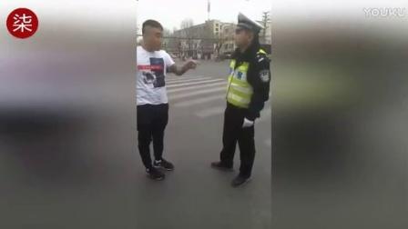 沧州男子拍视频挑衅侮辱执勤交警   在宾馆被抓