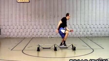 篮球课 提高脚步灵活性和速度的练习套路 篮球教学视频1 加农贝克篮球教学