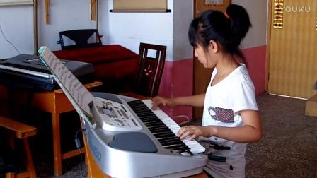 二级电子琴独奏《蓝猫淘气三千问》4