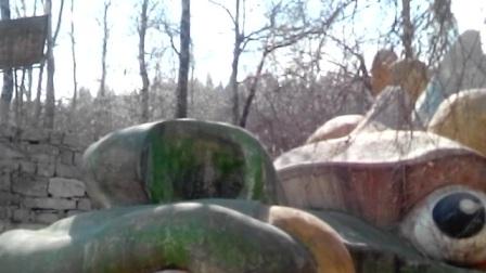 石家庄井陉矿区旅游胜地清凉山,水龙洞的传说!南马村青年王小三!到此旅游视频留念。!2017年3月14日。