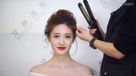新娘发型培训_新娘跟妆培训韩式妆 (63)_