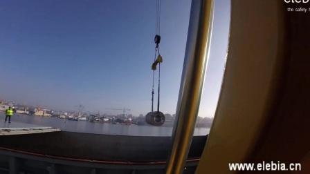 遥控自动吊钩应用—卸载钢卷