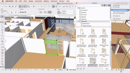 ARCHICAD 20 - Using Favorites in the Settings Dialogs