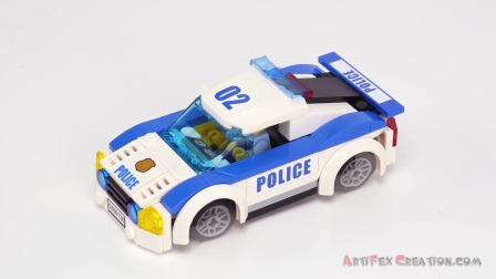 60138 积木砖家乐高Lego City Police HIGH-SPEED CHASE Speed Build