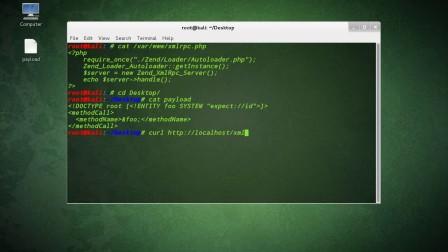 sH:DEMO2_Zend_Framework_XXE