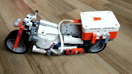 米兔机器人 MOC 重型 旅行 巡航 机车 摩托车 01