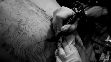 狼头纹身——苹果曲纹身
