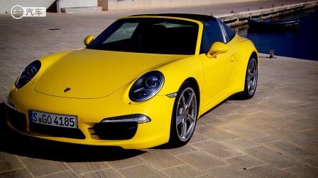 经典设计复活 意大利试驾全新一代保时捷911 Targa 4(中文/超清)