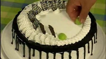 生日蛋糕裱花视频2用微波炉做蛋糕