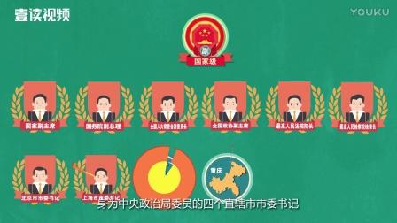 三分钟看懂中国官员级别