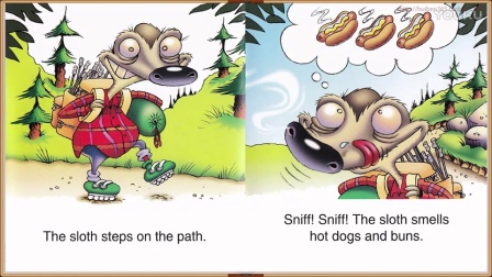 09 The Sloth Sniffs