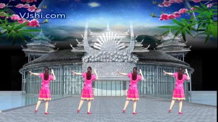 阿娜广场舞【阿西里西】正反面加分解 少数民族舞蹈