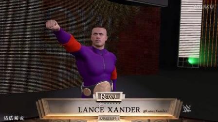 WWE皇家大战-佰威捍卫双打冠军赛vs罗曼雷恩斯-迪安布罗斯-WWE2K17生涯模式第22期-WWE2017年3月19日