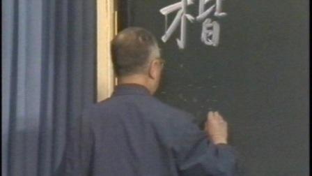 启功书法教学视频珍藏版4