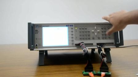 益和 MICROTEST  8740NAC(type-c)  Cable tester 线材测试仪器 operating instruction 操作说明