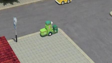 陆地方舟电动汽车安全知识宣传小视频_转弯路口要远离车辆
