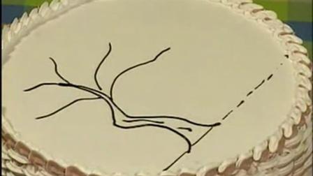 不喜欢裱花的你 一定要看这个装饰蛋糕新方法~卡通生日蛋糕图片