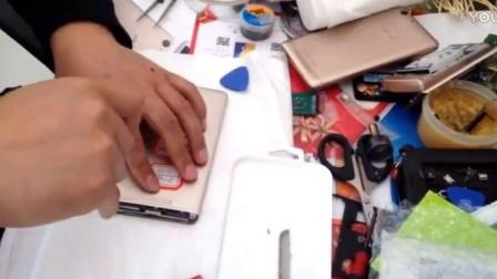 手机电脑维修视频教程之拆解华为MT7,更换屏幕总成