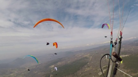 Paragliding Winter Cup 2017, Task 4 (last termal before start & start)