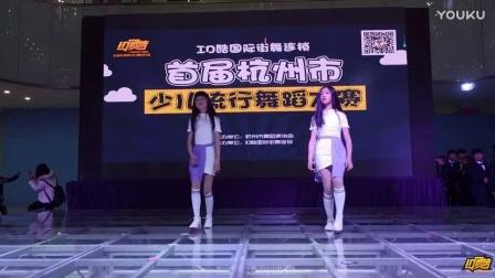 活力女孩参加少儿流行舞蹈大赛,宁波儿童舞蹈培训 ID酷街舞
