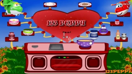 米奇送米妮的爱心蛋糕儿童亲子游戏2806_高清