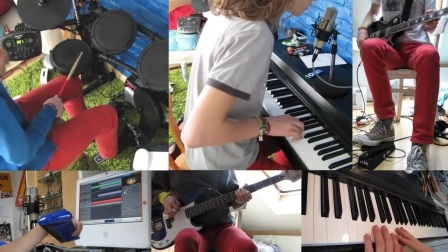 Daft Punk - Something about us (Full band cover)