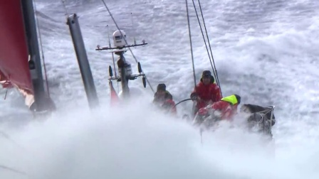 Dongfeng's first test _ Volvo Ocean Race