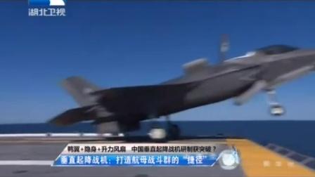 中国垂直起降战机曝光 采用鸭翼布局隐身设计.mp4