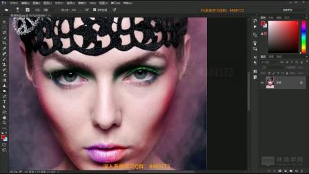 Photoshop cs6基础入门教程全套第17课-加深工具组