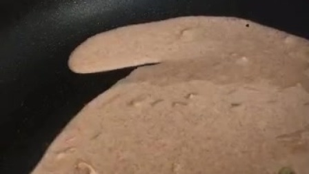 黑小麦全麦粉鸡蛋煎饼