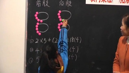 人教版二年级数学上册《29.表内乘法一拓展练习》示范课教学视频