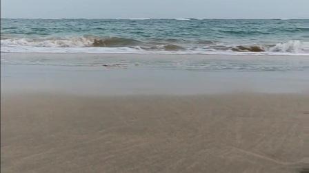 海南文昌东郊椰林海滩。