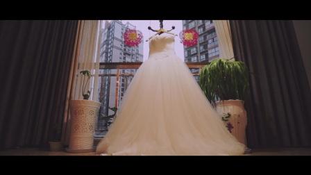 格林映画—时尚黑白巴中婚礼电影