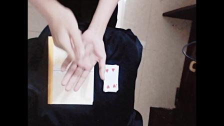 魔术教学 手中的灰尘