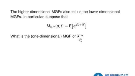 北美精算师视频教程 SOA Exam P Lessons C.2.4 Multi-variate MGFs.mp4