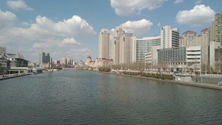 天津—海河观光—金汤桥北侧