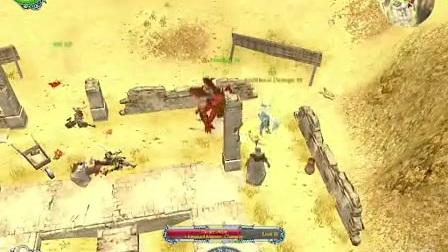 超级奇幻大作圣域2黄金版龙魔法师职业玩家精彩视频攻略 6.f4v