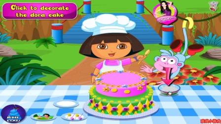 爱探险的朵拉历险记 朵拉的大蛋糕.朵拉的圣诞节蛋糕