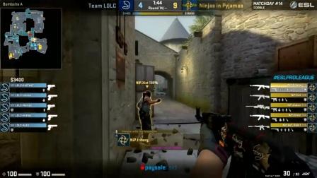 [CSGO]LDLC vs NiP图2Cbble ESL S5欧洲第14比赛日