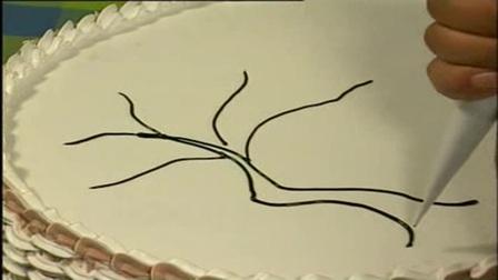 多肉植物花环蛋糕视频-韩式裱花花型手法演示-甜喵喵的烘焙屋