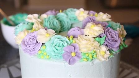 蛋糕奶油裱花视频教程 如何用奶油做玫瑰花