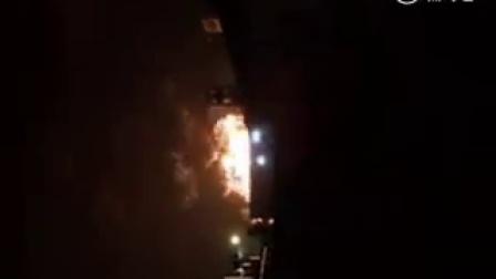 西安南郊电厂弧光爆炸