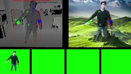 北京深视科技SDK-骨架+手部识别-上半身