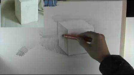 零基础美术视频教程_建筑钢笔画速写_素描教程图片电饭煲做蛋糕