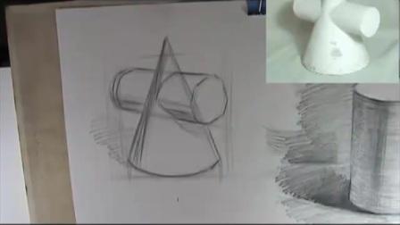 素描人物头像教程_人体素描教学视频元祖蛋糕